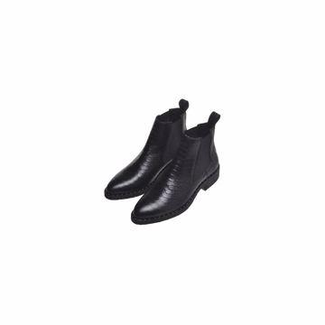 Copenhagen Shoes Støvle Bonnie Croco Black
