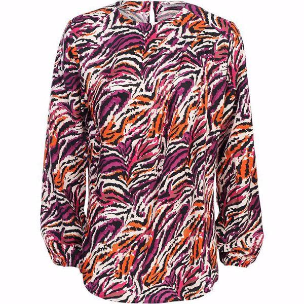 Summum Bluse Tiger Multicolour
