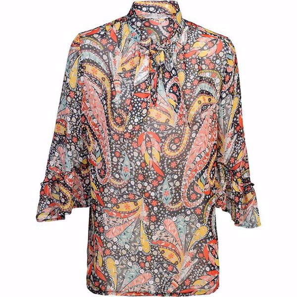 Summum Bluse Flower Paisley