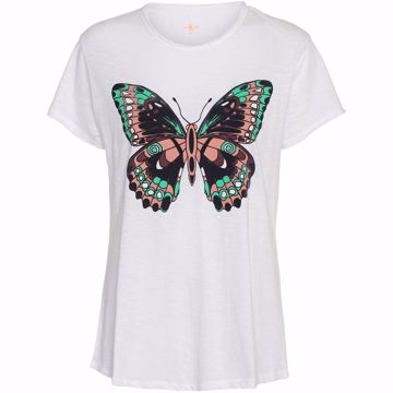 Costa Mani T-shirt Butterfly White