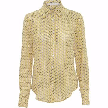 Costa Mani Skjorte Silke Yellow