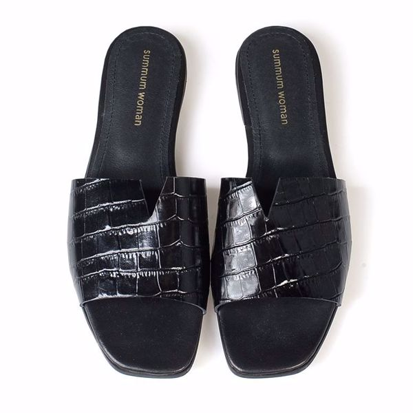 Summum classic sandal black