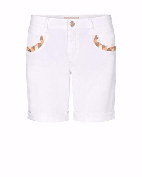 Mos Mosh Shorts Naomi Decor G.D White