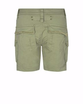 Mos Mosh Shorts Cheryl Cargo Oil Green