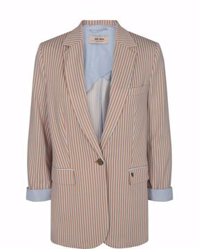 Mos Mosh Blazer Cobb Rale Light Blue Stripe