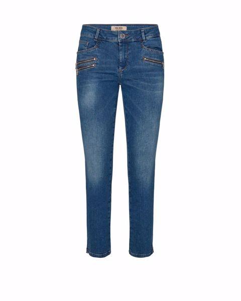 Mos Mosh Jeans Berlin Shore Zip Blue