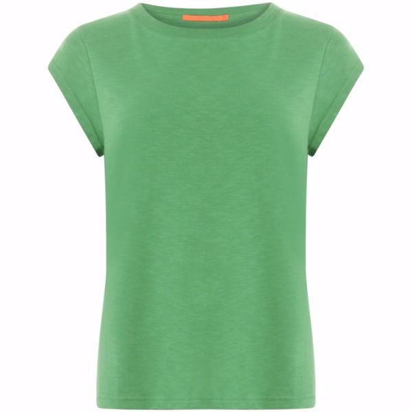 Coster Copenhagen Basis Tee O Neck Emerald Green