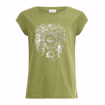 Coster Copenhagen T-shirt W- Tarot Forest Green