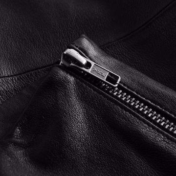 Depeche Læder Leggings Black