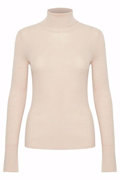 In Wear Pullover Siv Powder Beige