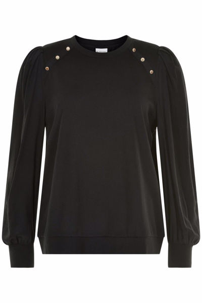 In Front Bluse Lucia Black