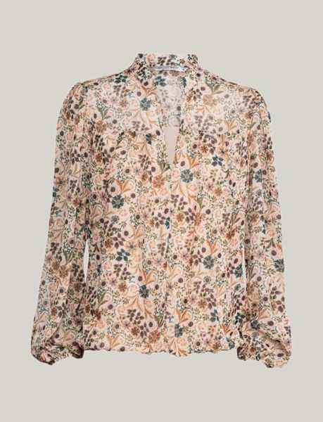 Summum Bluse Flower Print Multicolour