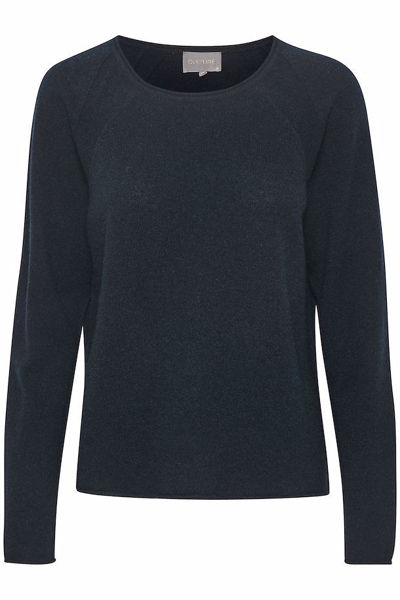 Culture Cashmere Pullover Cualaia Salute Melange