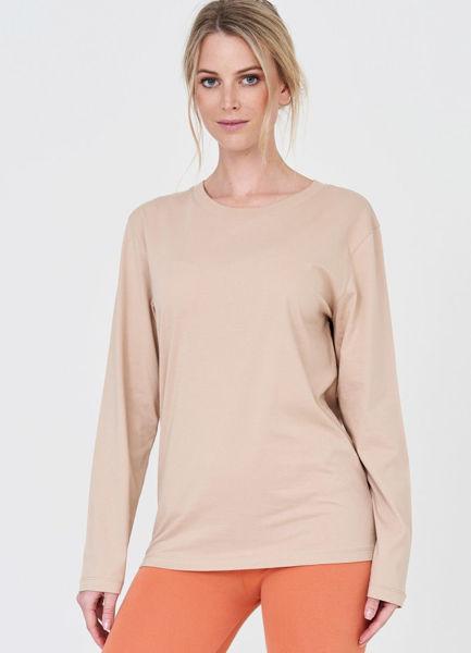 Cotton Candy Bluse Sue Beige