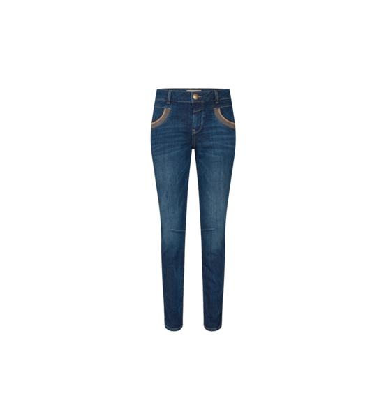 Mos Mosh Jeans Naomi Shade Blue