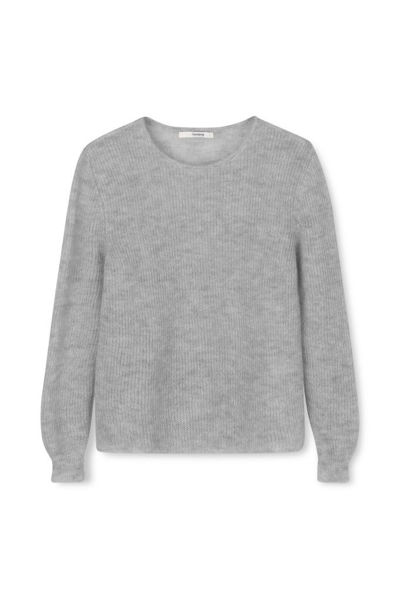 Sibinlinnebjerg Strik Capri Sweat Grey