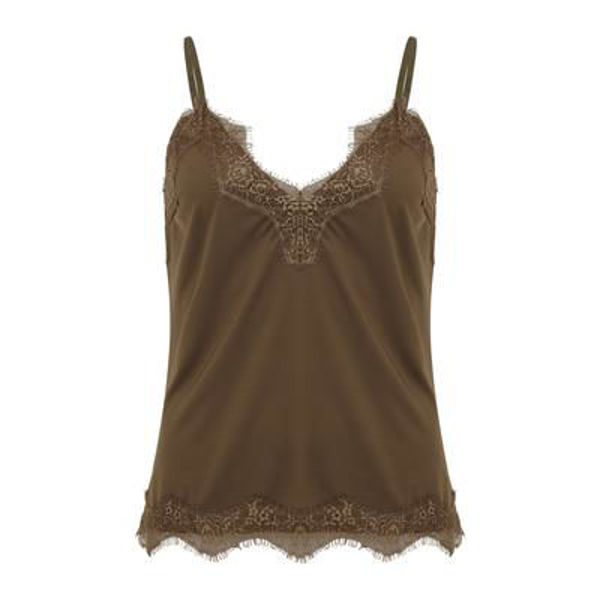CC Heart Top Lace Night Green