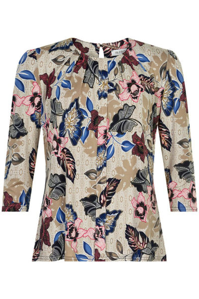 Infront Bluse Marcia 3/4 Sleeves Sand