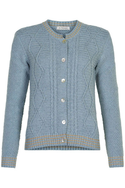 Infront Cardigan Lillian Light Blue