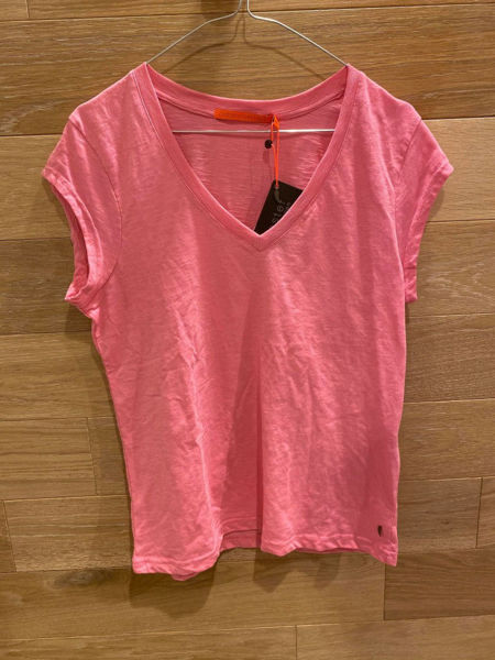 Coster Copenhagen Basis Tee V-Neck Candy Pink