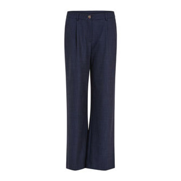 Coster Copenhagen Bukser Wide Dark Denim Blue