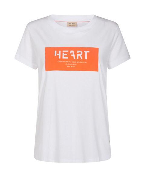 Mos Mosh T-shirt Chérie O-SS Nectarine