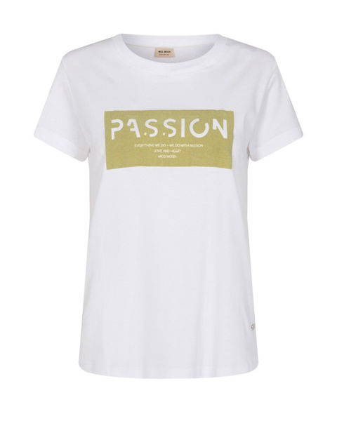 Mos Mosh T-shirt 136410 Chérie O-SS Tee Winter Pea
