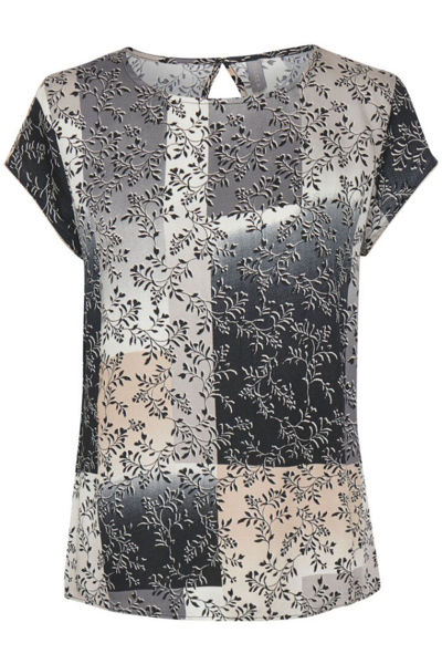 Culture Bluse Erandi Black SS