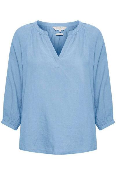 Part Two Bluse Hikma Vista Blue