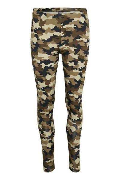 Culture Leggins Semira Brown Camouflage