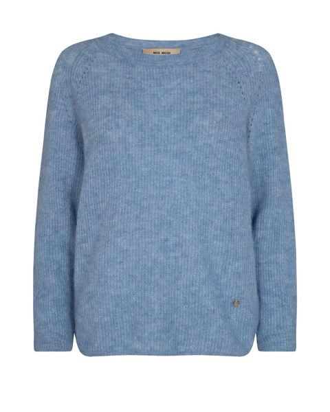Mos Mosh Knit Tammy Bel Air Blue