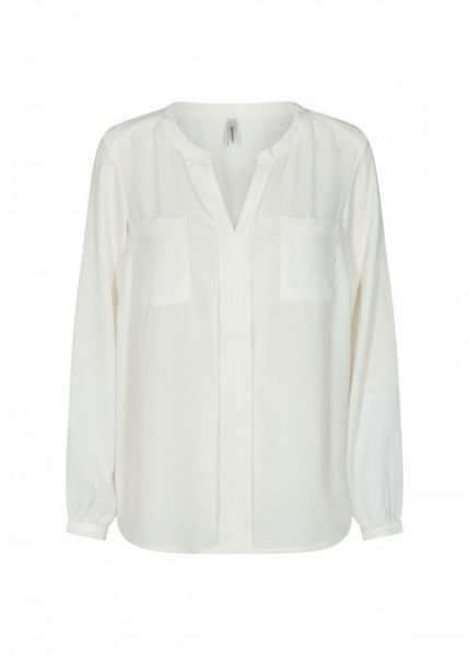 Soya bluse Cemre of-white
