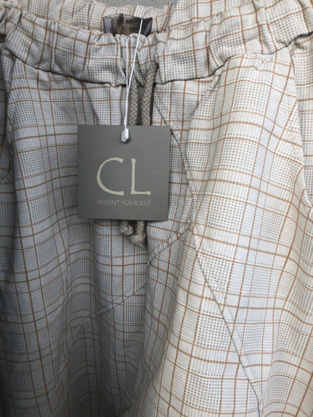 Cabana Living Baggy Pant Check Beige