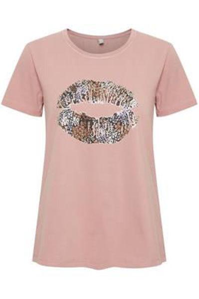 Culture T-shirt Gith Ash Rose
