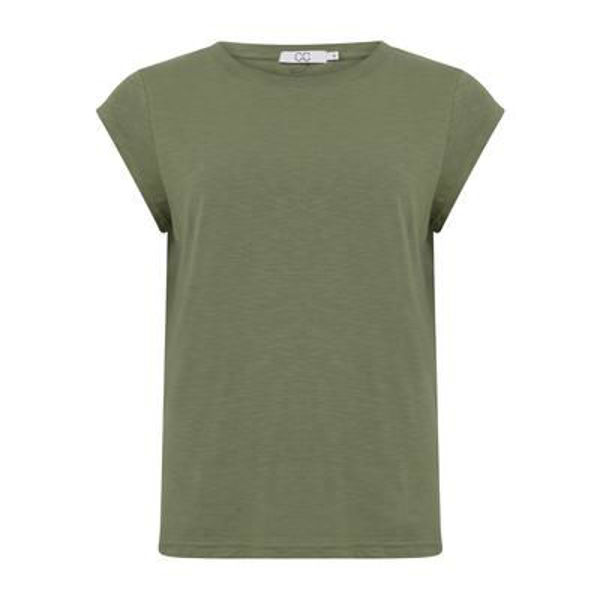 CC Heart T-shirt O Neck Mineral Green