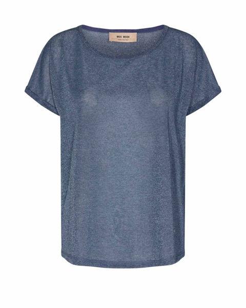 Mos Mosh T-shirt Kay Vintage Indigo