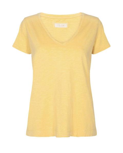 Mos Mosh T-shirt Arden Organic V-Neck Charmomile