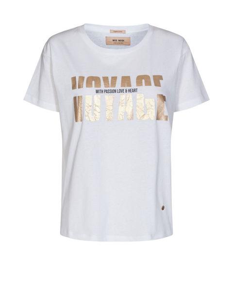 Mos Mosh T-shirt Mex O-SS Tee White