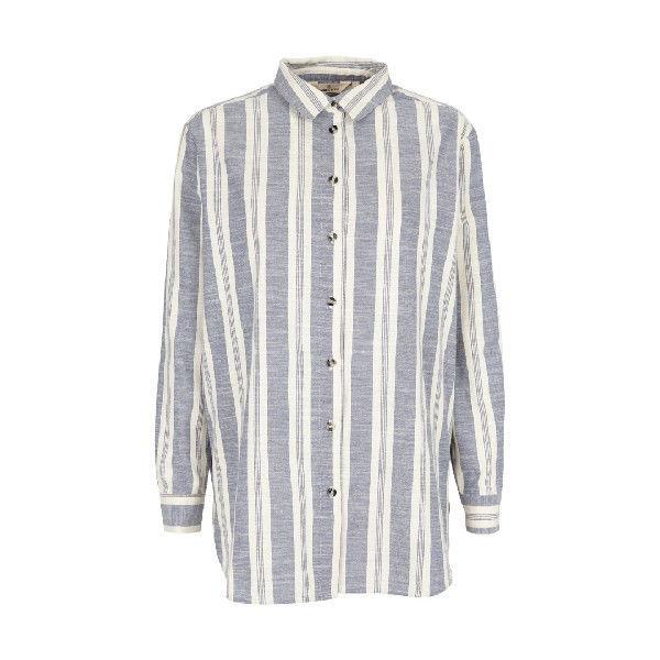 Basic Apparel Evita Shirt Navy