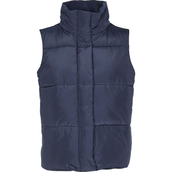 Basic Apparel Dagmar Vest Navy