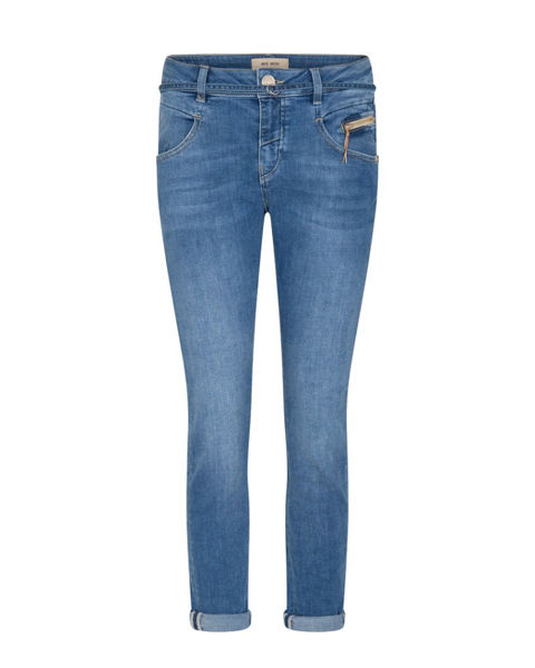 Mos Mosh Jeans Nelly String Light Blue
