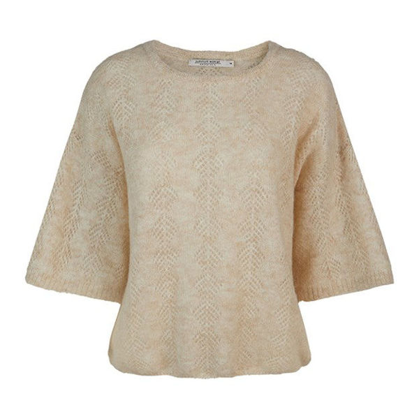 Summum Sweater Light Alpaca Knit Ivory