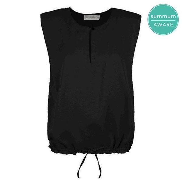 Summum Bluse Tencel Black