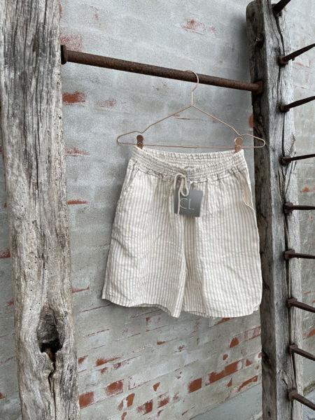 Cabana Living Shorts Beige Stripe