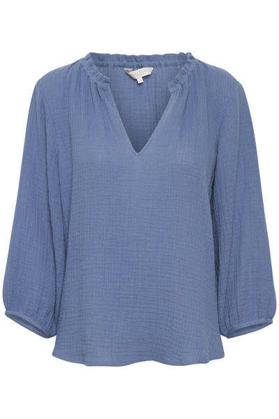 Part Two Bluse Josie Colony Blue