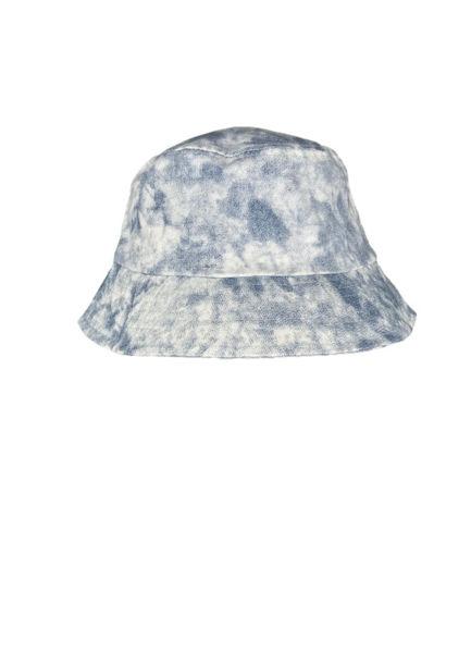 Black Colour Hat Drew Blue