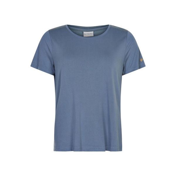 Infront T-shirt Nina Dusty Blue