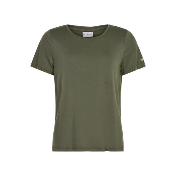 Infront T-shirt Nina Olive