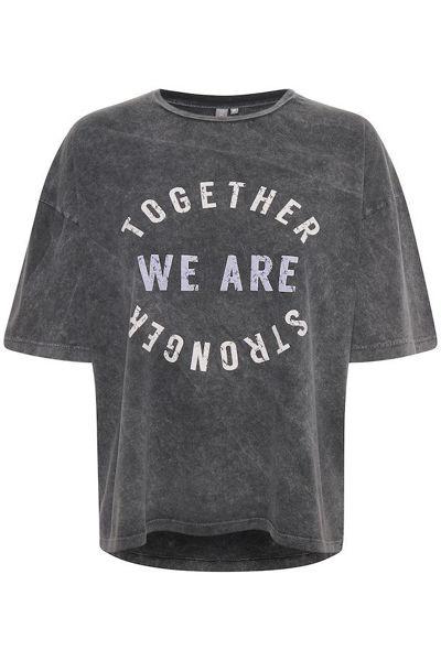 Culture T-shirt Nermin Black
