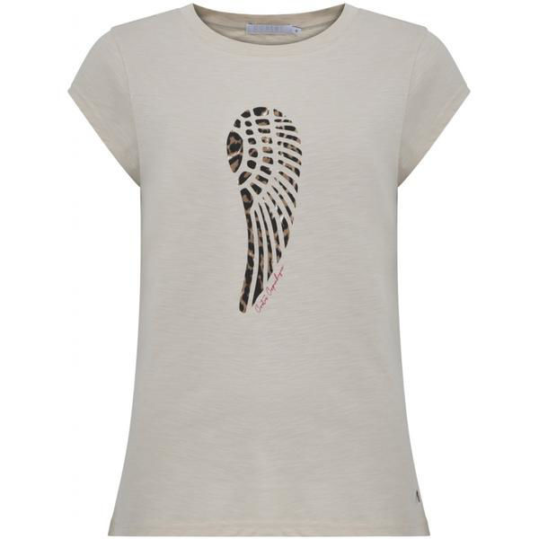 T-Shirt Leopard Wing Sand